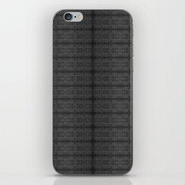 Grey Lattice iPhone Skin