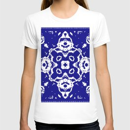 CA Fantasy Deep Blue-White series #4 T-shirt