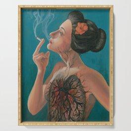 Smoking Hot Mess Serving Tray