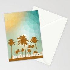 Palms at desert Stationery Cards
