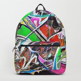 Colorful Abstract 2 Backpack
