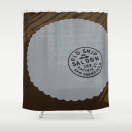 Old Ship Saloon Shower Curtain