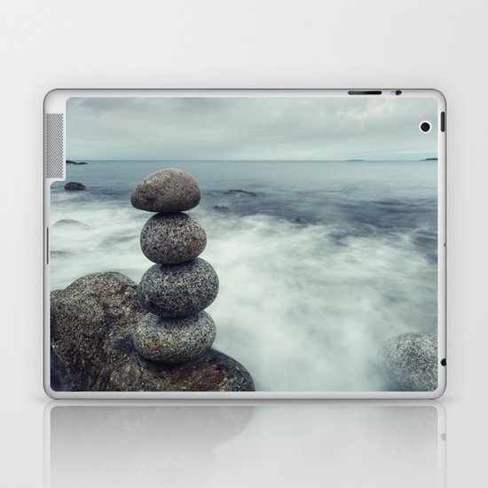 Maintain the Balance Laptop & iPad Skin