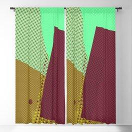Vintage style geometric Blackout Curtain