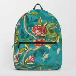 Morning Song - turquoise Backpack
