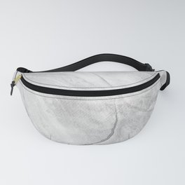 Watercolor Black Marble Painting Fanny Pack