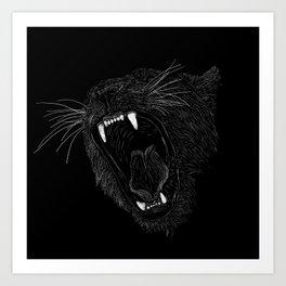 Black Panther Art Print