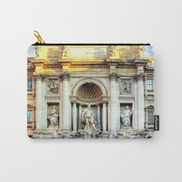 Trevi Fountain and Pool - Rome, Italy Carry-All Pouch