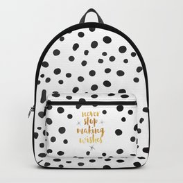 Making Wishes Quote Backpack