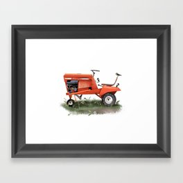 Tractor Wrens Framed Art Print