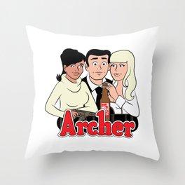 Archer Comics Throw Pillow