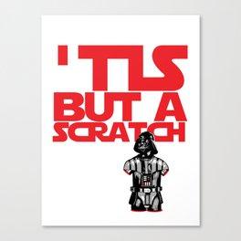 The Darth Knight Canvas Print