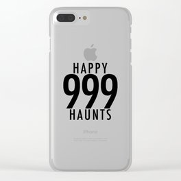Haunted Mansion 999 Happy Haunts Clear iPhone Case