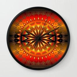 Fire Spirit Wall Clock