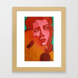 Chingona Chavela, La Joven Framed Art Print