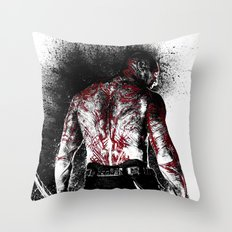 Drax the Destroyer Throw Pillow