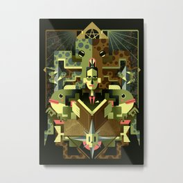Necronomicon Metal Print