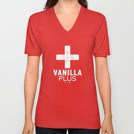 Vanilla + Unisex V-Neck