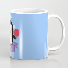 Penguin table tennis from CANADA T-Shirt Coffee Mug