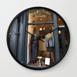 Edinburgh Wall Clock