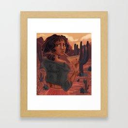 Last Light of the Day Framed Art Print
