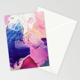 Saturday Night (Abstract Painting) Stationery Cards