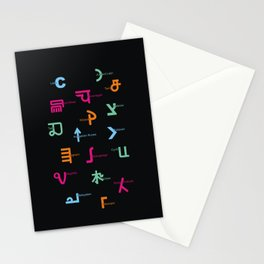 C in Scripts Around the World /I Stationery Cards