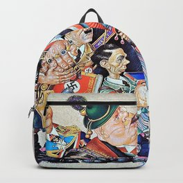 Arthur Szyk - Satan Leads the Ball - Digital Remastered Edition Backpack