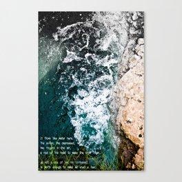 -His Sullen Canvas Print