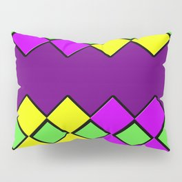 Diamond Mardi Gras Pillow Sham