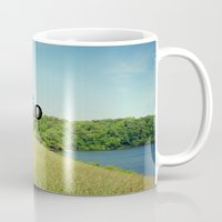 ohio Mugs featuring Hello Ohio by KimberosePhotography