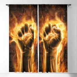 Fire fist Blackout Curtain