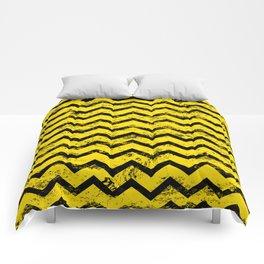 CHEVRON HONEY Comforters