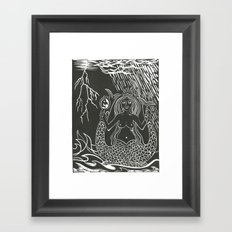 Melusine Framed Art Print