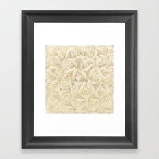 bunch of roses Framed Art Print