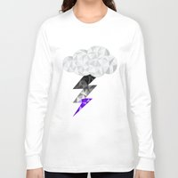 asexual Long Sleeve T-shirts featuring Asexual Storm Cloud by Casira Copes