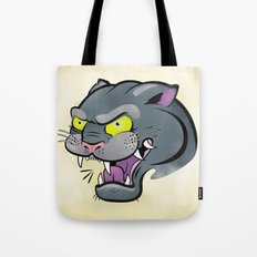 Panther Tattoo Flash Tote Bag