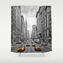 5th Avenue NYC Traffic Shower Curtain