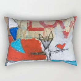 shame free zone Rectangular Pillow
