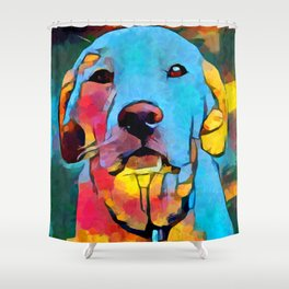 Labrador Retriever 4 Shower Curtain