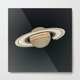 the planet Saturn Metal Print