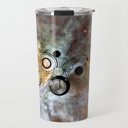 Doctor Who Geronimo Gallifrey with the Carina Nebula Travel Mug