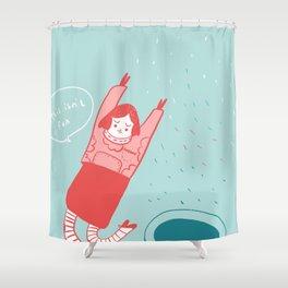 this isn't fun Shower Curtain