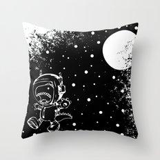 DINOSAUR IN SPACE! Throw Pillow