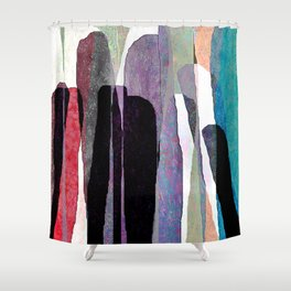 group dynamics Shower Curtain