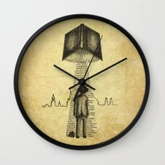 Take Me To Your Reader Wall Clock