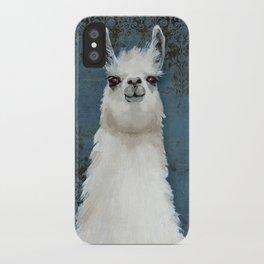 Hello Llama iPhone Case