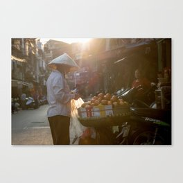 Vietnam Streets Canvas Print
