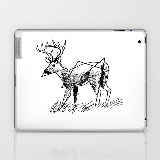 Modern deer Laptop & iPad Skin