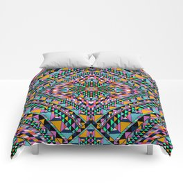 Triangle Takeover Comforters